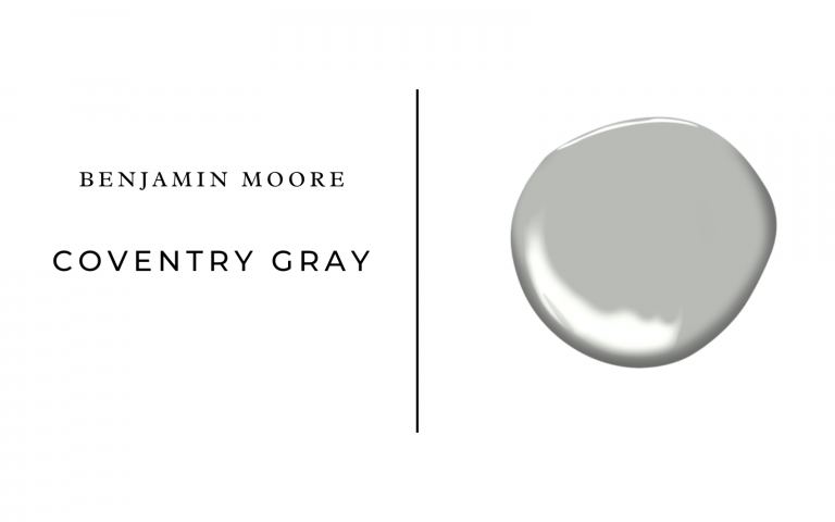 benjamin moore coventry gray
