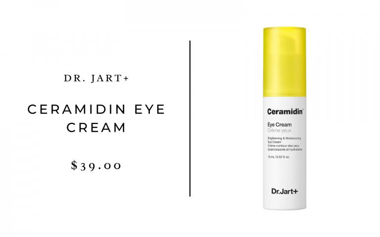 dr. jart ceramidin eye cream