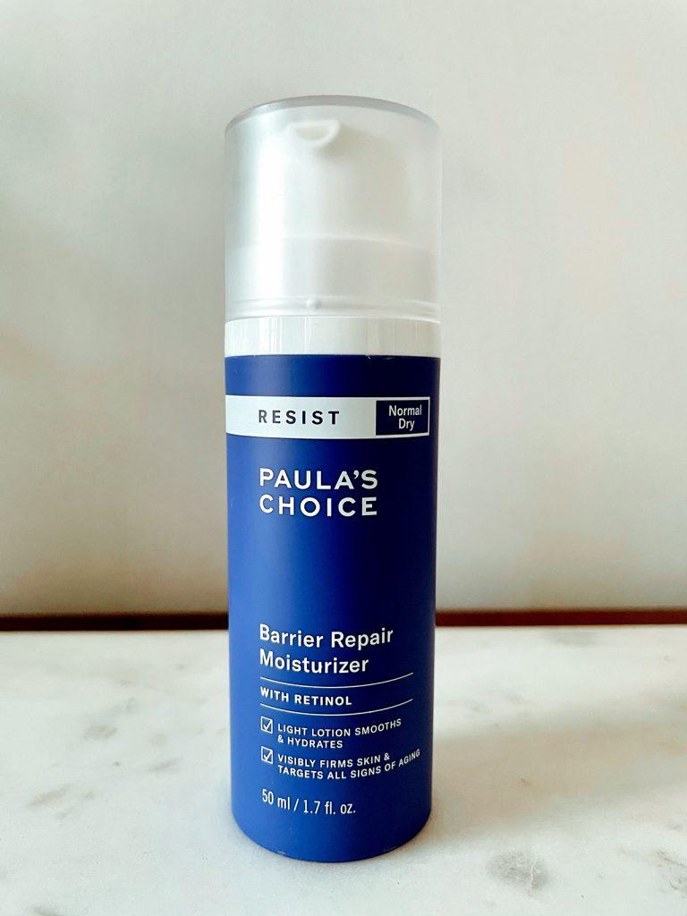 barrier repair moisturizer with retinol paula's choice