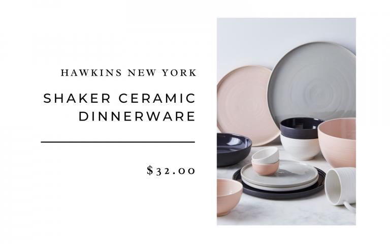 shaker ceramic dinnerware food52