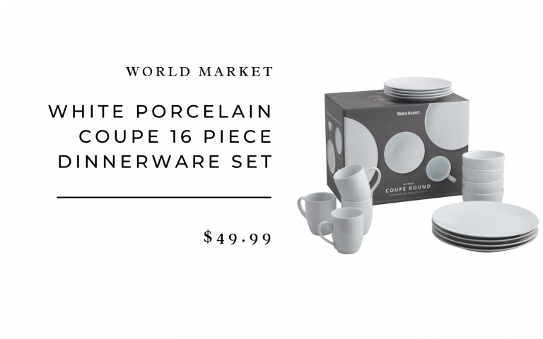 world market porcelain coupe set