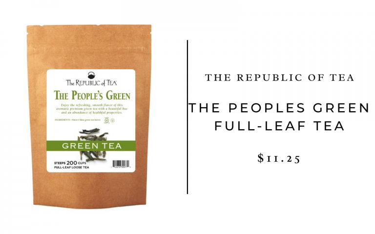 the people's republic green tea