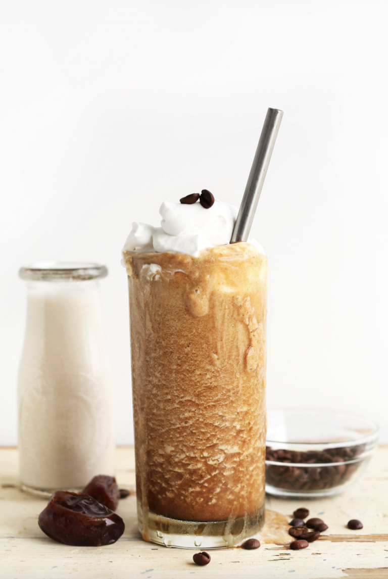 Cold Brew Caramel Frappuccino from Minimalist Baker