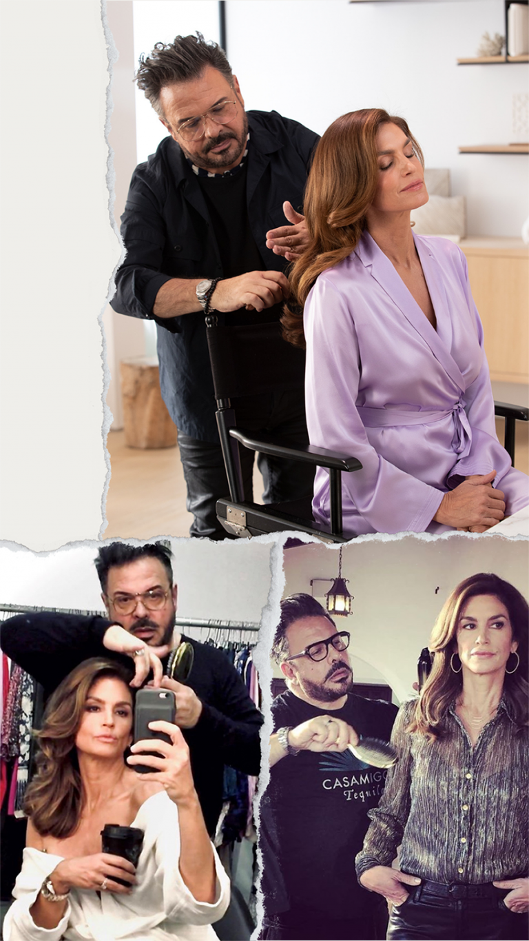 how to get thicker fuller hair_Cindy Crawford