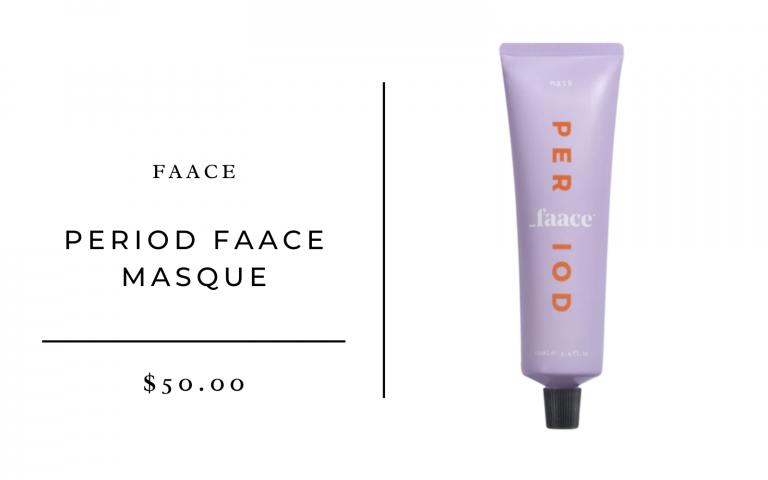 Faace Period Faace Masque