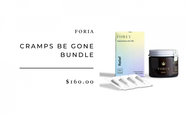 Foria Cramps Be Gone Bundle_best period products