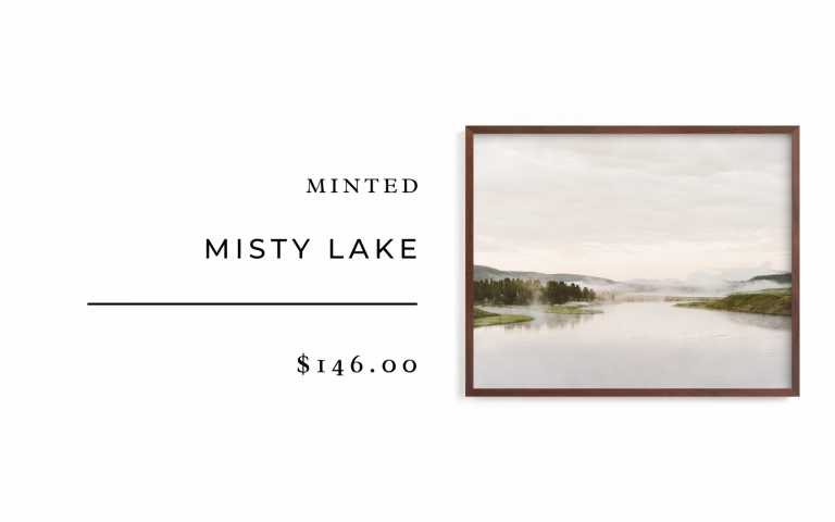 minted misty lake