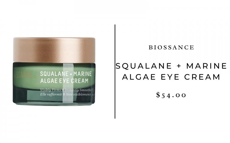 biossance squalane and algae eye cream