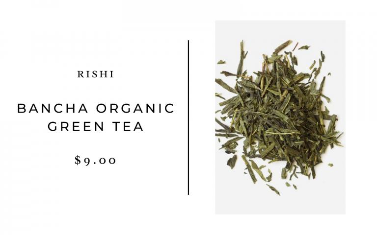 rishi green tea