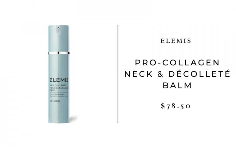 elemis neck and decollete balm