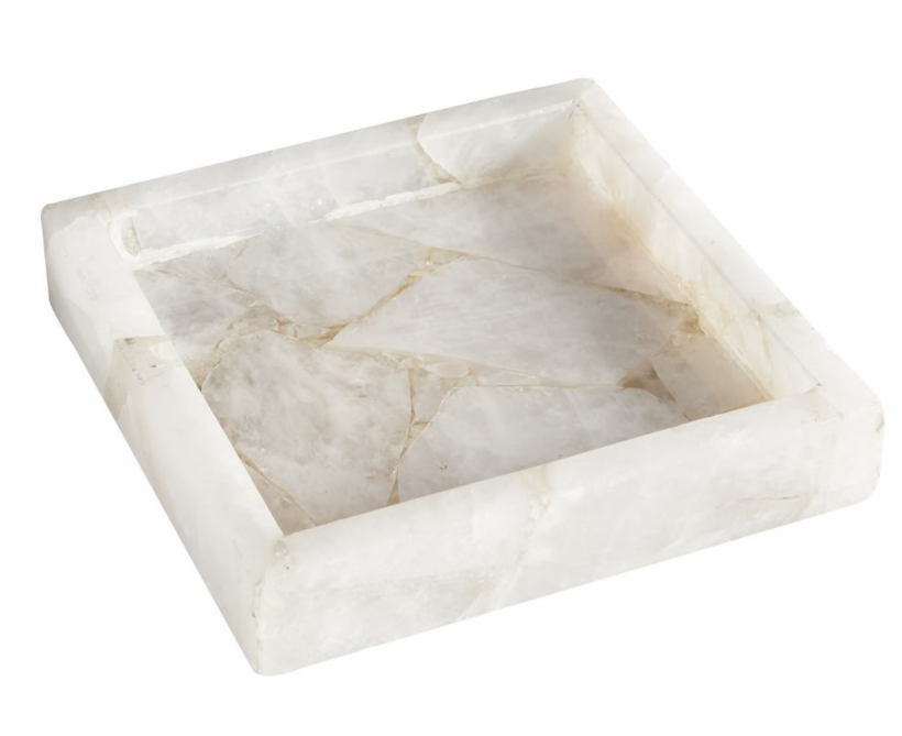 pottery barn marble stone catchall