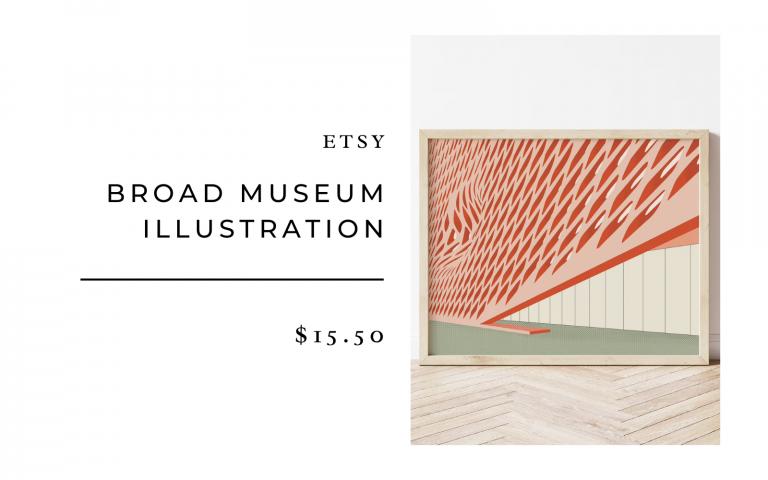 etsy broad museum illustration