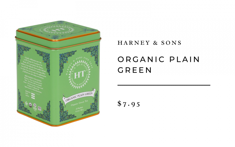harney & sons organic green tea