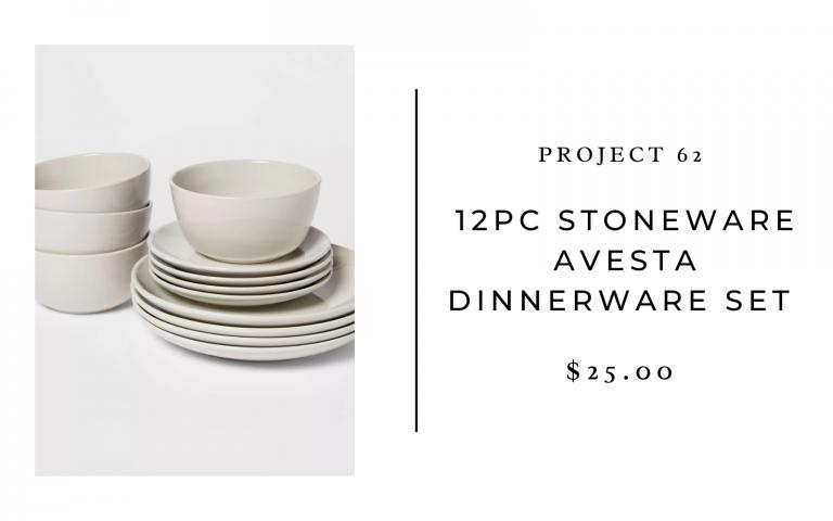 target project 62 stoneware avesta dinnerware set