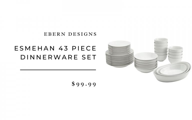 wayfair ebern designs dinnerware set
