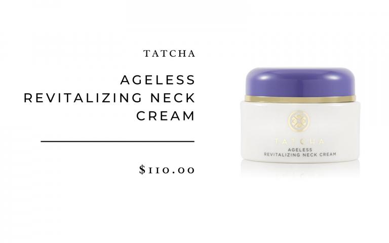 tatcha ageless revitalizing neck cream