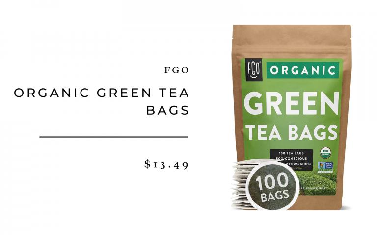 GFO Organic green tea