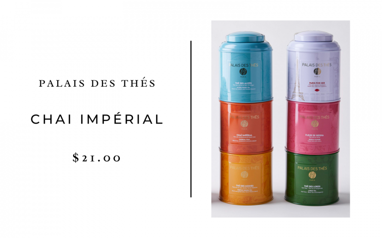 palais de thes. chai imperial