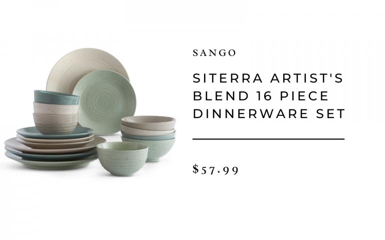 wayfair sango siterra artisanal blend dinnerware set