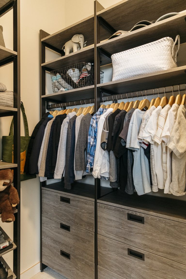 small space kids closet ideas, organization and decor tips, camille's house