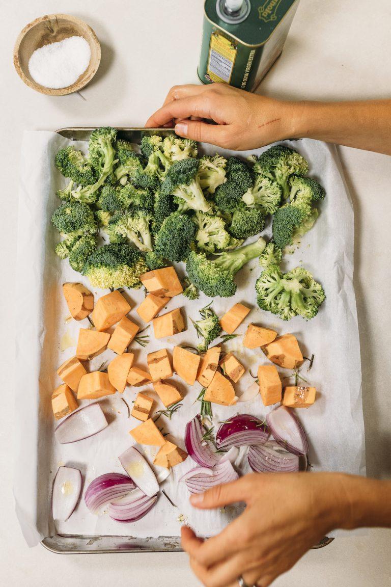 نحوه پخت سبزیجات ، آماده سازی غذا