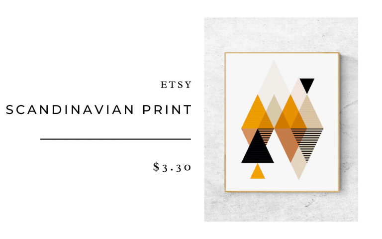 etsy scandanavian print