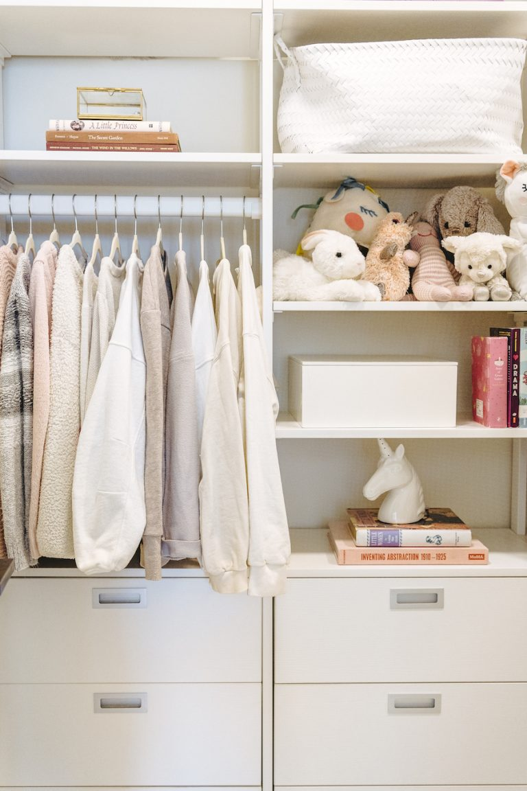 kids closet ideas for girls, organization and decor tips, camille's house