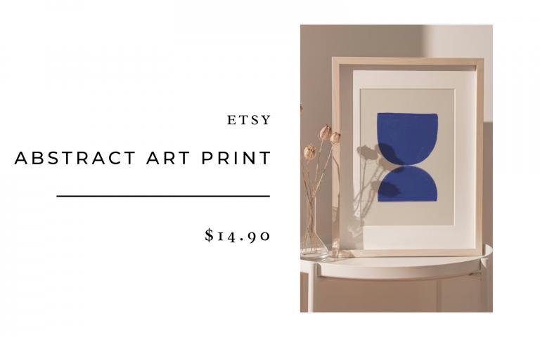 abstract print etsy