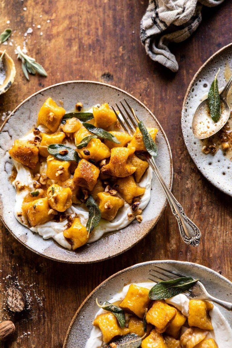 pumpkin cauliflower gnocchi