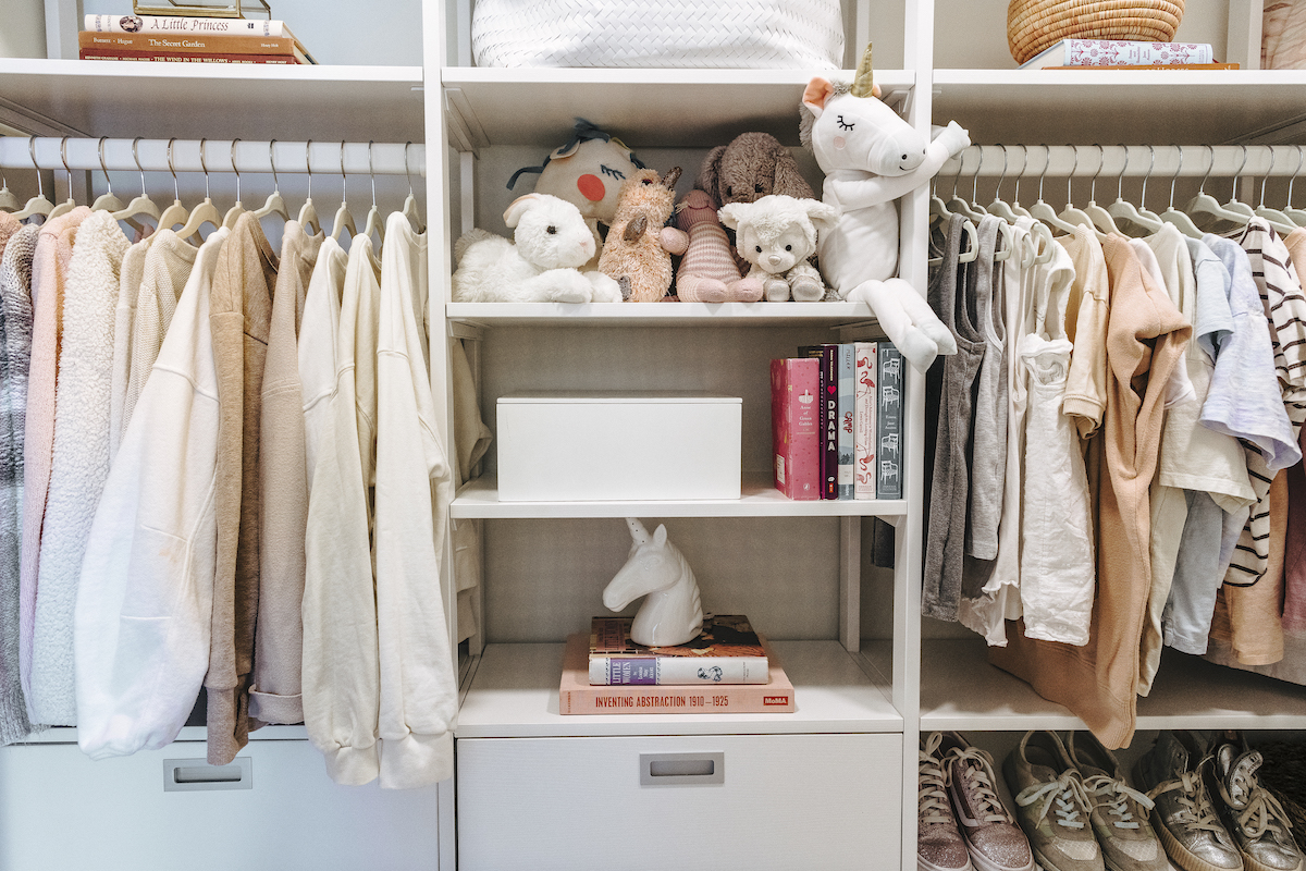 How I Organized One of the Trickiest Spots in Our Home—The Kids' Closets!