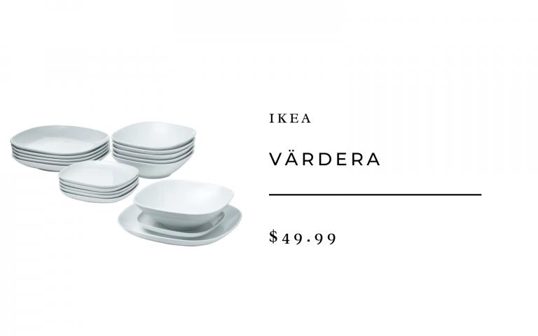 ikea vardera dinnerware set