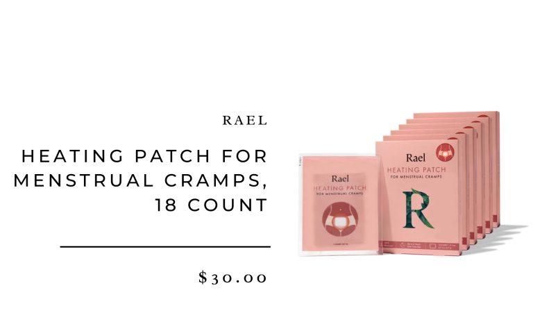 Rael Heating Patch for Menstrual Cramps, 18 Count_best period products