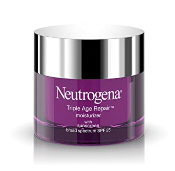 neutrogena triple action moisturizer with spf