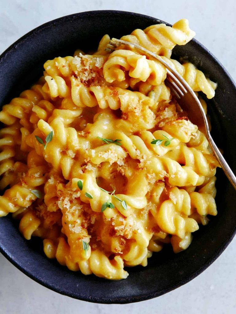 pumpkin mac n cheese