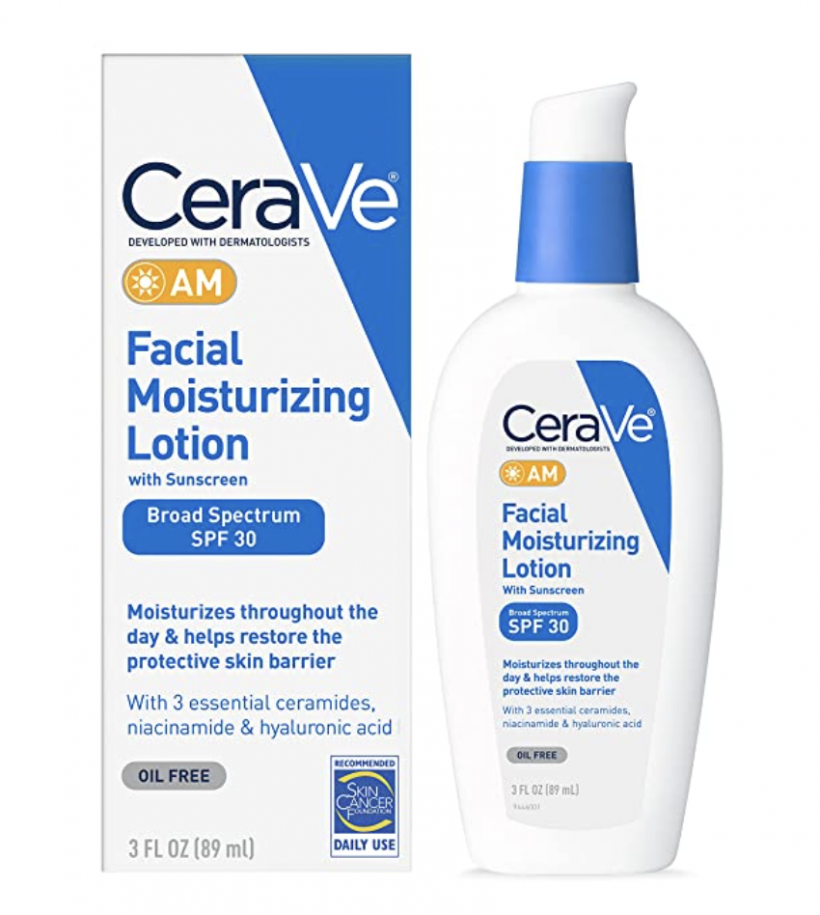 cerave facial moisturizing lotion with spf